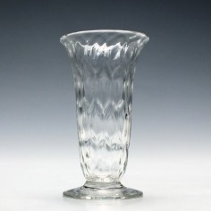 19th Century Nipt Diamond Waies Jelly Glass