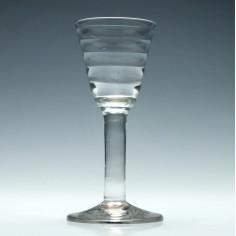 Plain Stem Lynn Wine Glass c1755
