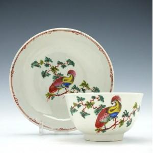 Liverpool Penningtons Porcelain Tea Bowl & Saucer c1775