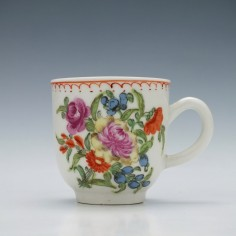 A Bow porcelain Coffee cup c1770