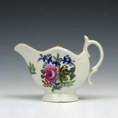 Rare Caughley Rose pattern Ewer c1790