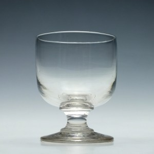 Early 19th century glass rummer c1820