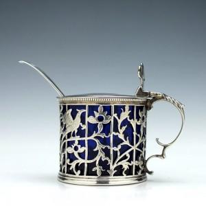George III Pierced Silver Mustard Pot London 1767
