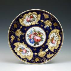Ten Chamberlains Worcester Dessert Plates c1830