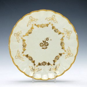 Worcester Porcelain Giles Decorated Tea Plate c1768