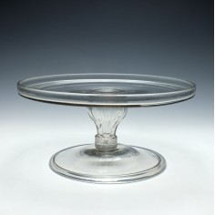 18th Century Glass Tazza c1775