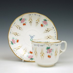 Davenport Cup and Saucer 1849