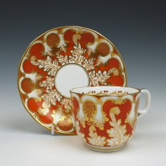 Davenport Cup and Saucer 1849