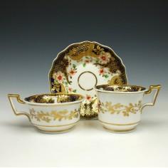 Ridgway Porcelain Trio Pattern 1015 c1825