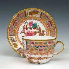 Spode Porcelain Pattern 868 Teacup & Saucer c1815