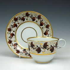 Flight Barr Worcester Teacup & Saucer c1800
