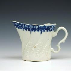 Pennington's Liverpool Porcelain High Chelsea Ewer, c1785-95