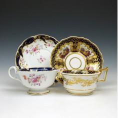 Ridgway Teacups and Saucers c1840