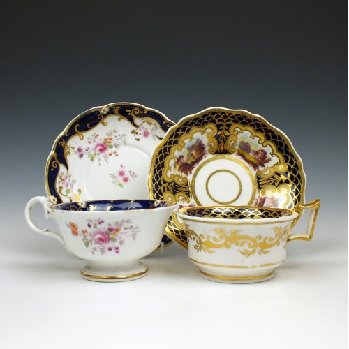 Ridgway Teacups and Saucers c.1840