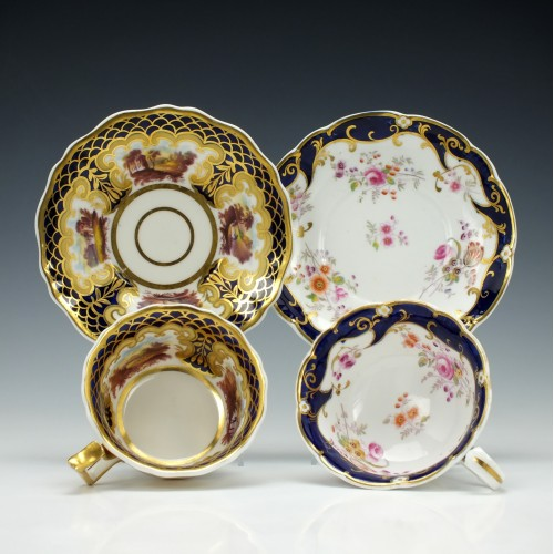 Ridgway Teacups and Saucers c1840