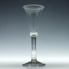 Elegant 18th Century Ale Glass c1740
