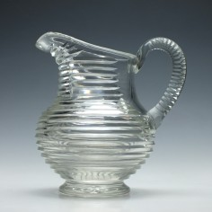 Georgian Cut Glass Water Jug c1840