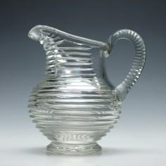 Hill Ouston Georgian Style Cut Glass Water Jug c.1920