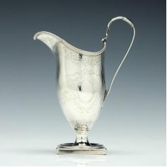 George III Silver Cream Jug London 1781