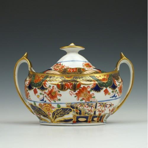 Spode Imari Pattern 967 Porcelain Sucrier 1805-10