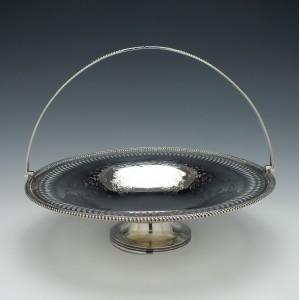 Victorian Silver Basket Sheffield 1864