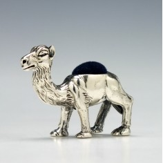 20th Century Novelty Silver Pincushion