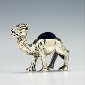 20th Century Novelty Silver Pincushion