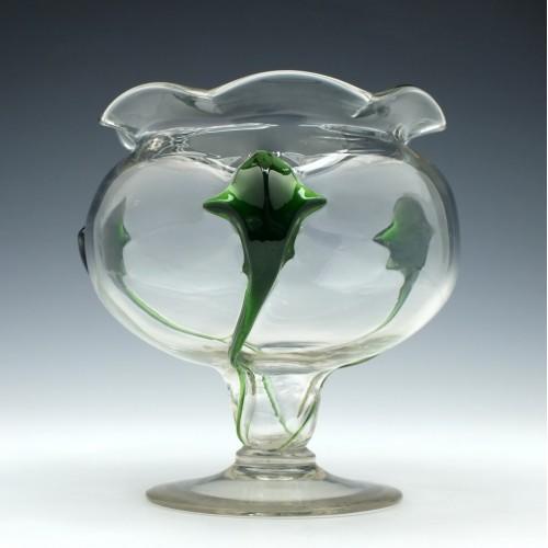 Stuart And Sons Cairngorm Glass Vase
