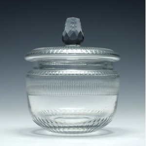 19th Century Lidded Preserve Jar c1820