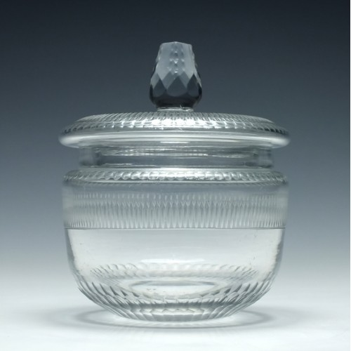 19th Century Lidded Preserve Jar c1820