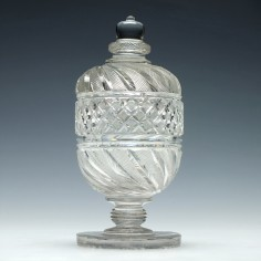 Victorian Covered Preserve Jar c1850