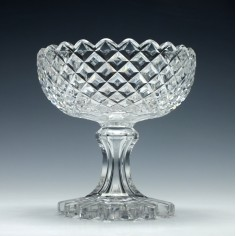 Victorian Hollow Stem Glass Sweetmeat