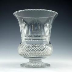 Large Royal Brierly Crystal Vase 1924-27
