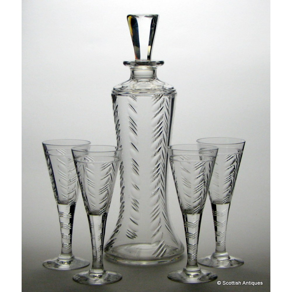 Crystal glassware, Glass carafe