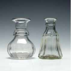 Two Glass Measures c1900