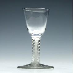 Opaque Twist Dram Glass c1760