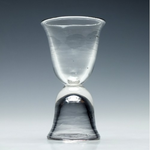 Georgian Double Ended Dram Glass c1750