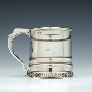 Georgian Silver Toddy Mug London 1809