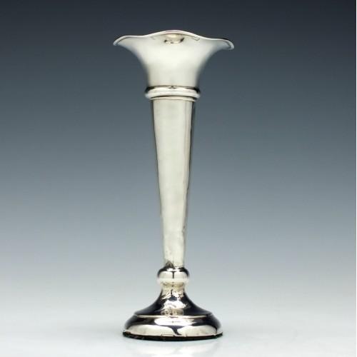 Silver Stem Vase Birmingham 1908