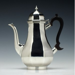 Edward VII Silver Coffee Pot London 1904