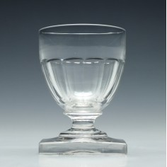 19th Century Monteith Glass c1850