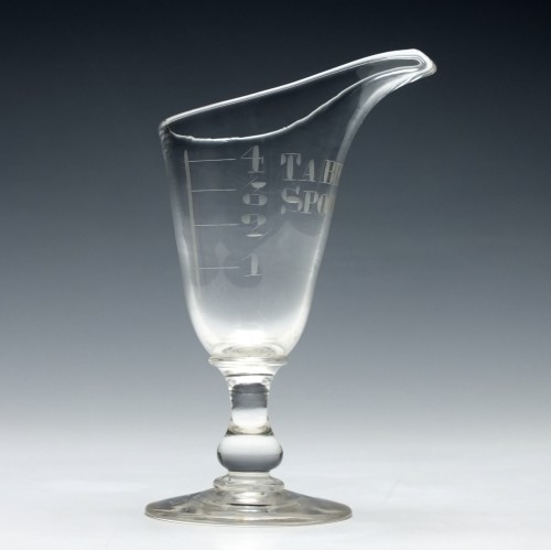 Unusual Victorian Table Spoon Measure c1870