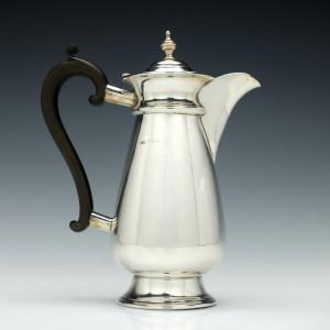 Edward VII Silver Coffee Pot Birmingham 1914