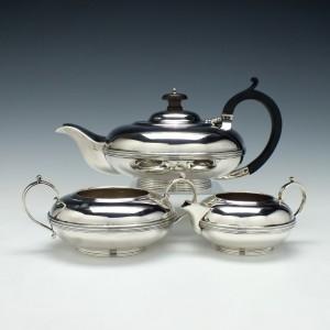 Silver Tea Service Albert Faulkner London 1919