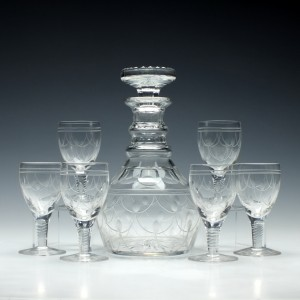 A Stuart Crystal 'Tamara' Decanter Set