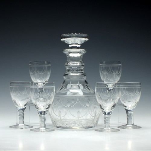 A Stuart Crystal 'Tamara' Decanter Set