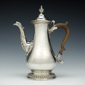 George III Silver Coffee Pot London 1765