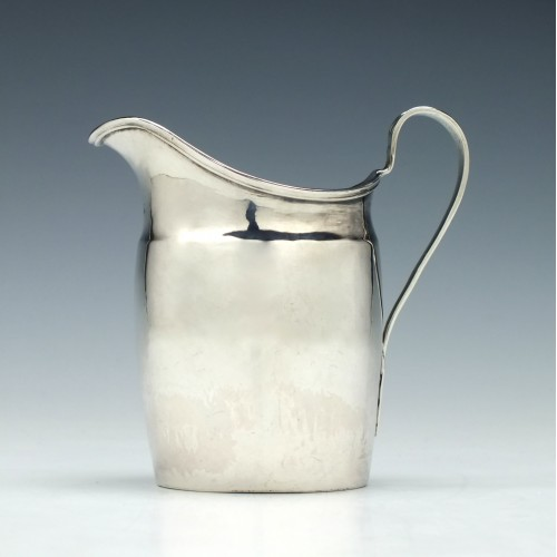 Silver Cream Jug Solomon Hougham London 1797