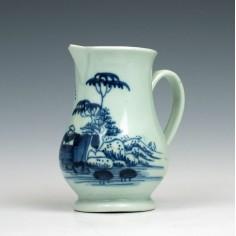 Liverpool Richard Chaffers Cream Jug c1760 Ex Watney Collection