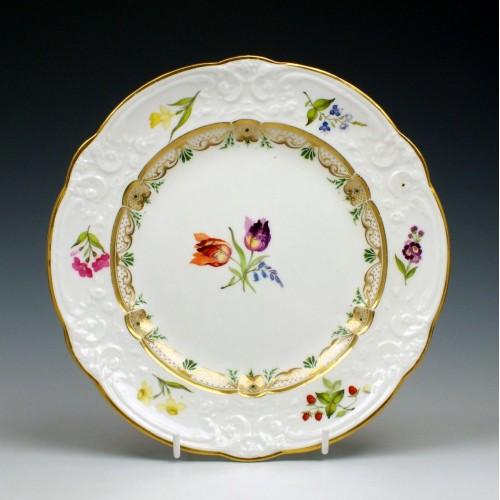 Antique Swansea Porcelain Dessert Plate c1820